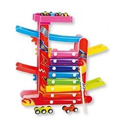 Jucărie lemn  educațională- Xilofon 3in1