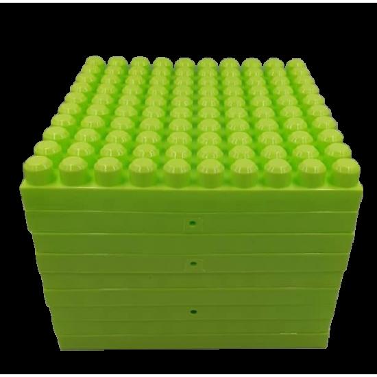 Set 9 placi 31x31 cm Panou pentru jocurile de construit