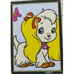 Pictură pe numere Puppy