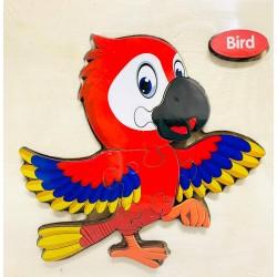 Puzzle 3D din lemn Bird