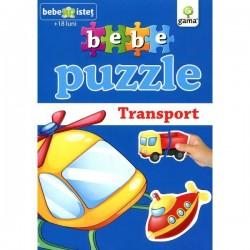Bebe Puzzle Vehicule de Transport