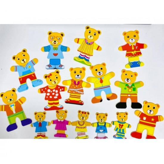 Puzzle Familia de Ursuleti
