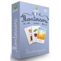Carti de joc Montessori - Anotimpuri