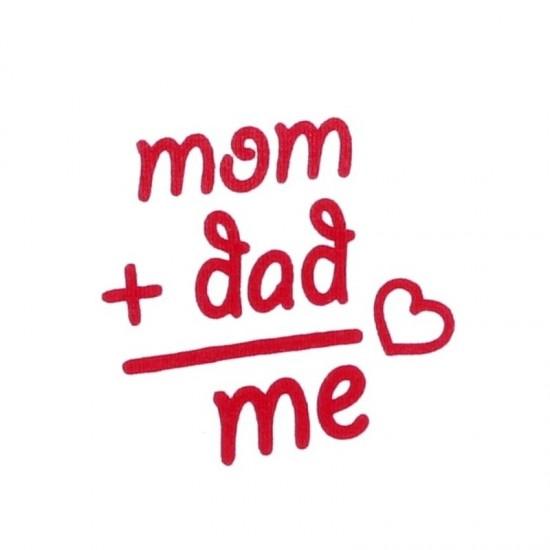 "Body copii cu maneca lunga, ""Mom+Dad"""