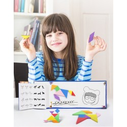 Carte tangram cu 456 modele