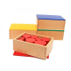 Cilindri Knobless Montessori - Activitate de secvențiere pentru copii