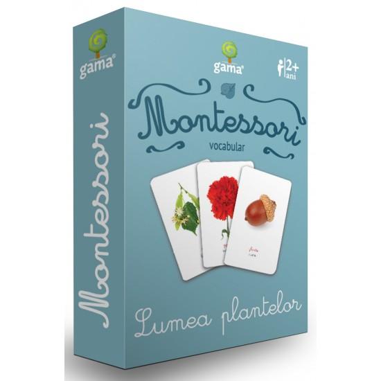 Carti de joc Montessori/Lumea plantelor