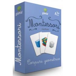 Carti de joc Montessori - Corpuri geometrice