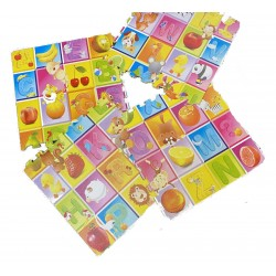 Covor bebe puzzle educativ