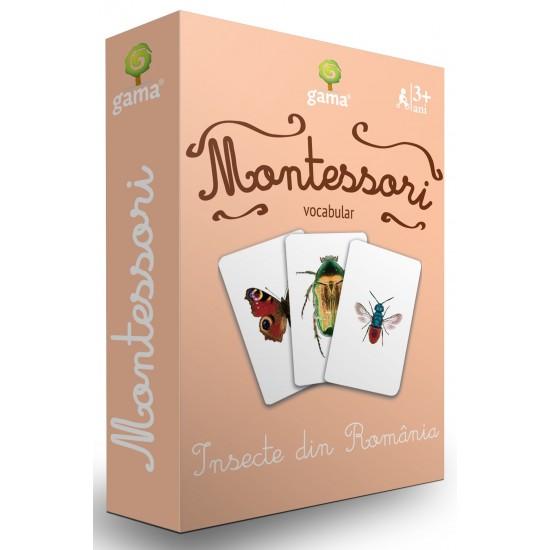 Carti de joc Montessori - Insecte din România