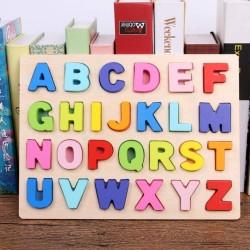 Puzzle Alfabet Color Litere mari