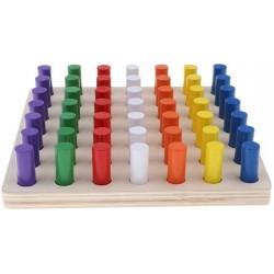 Joc Montessori Cilindrii Colorati