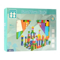 Set 100 cuburi Smart Trafic Beilaluna