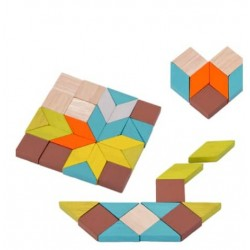 Joc din lemn Mini Mosaic