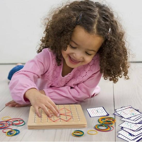 Joc Montessori Geoboard
