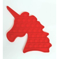 Pop it Unicorn Rosu