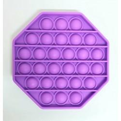 Pop it Antistres din silicon Hexagon mov