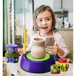 Joc educativ de olarit Roata olarului cu accesorii incluse