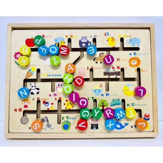 Tabla magnetica si Tabla labirint cu litere