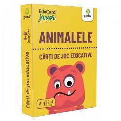 Carti de joc Montessori - Animalele