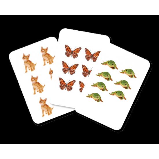 Carti de joc Montessori -Cifrele