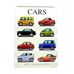 Carte Puzzle 6 pagini Cars