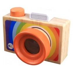 Aparat foto din lemn pentru copii Caleidoscop Manevrabil