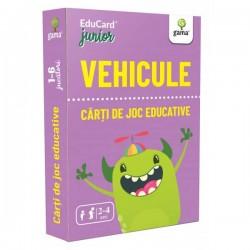 Carti de joc Montessori Vehicule