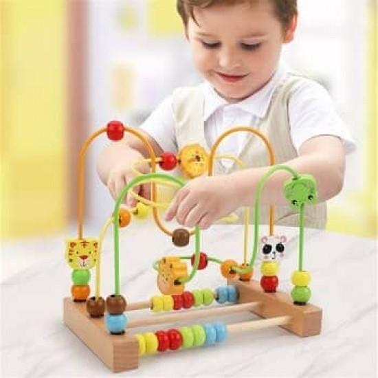 Labirint 3D cu Animalute Joc dexteritate