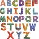 Puzzle educativ piese  Alfabetul cu Animale