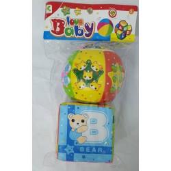 Set minge si cub pentru bebelusi