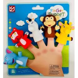 Finger Puppet - Animale din jungla