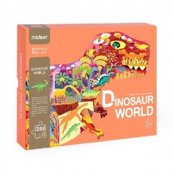 Puzzle de podea - Dinozauri