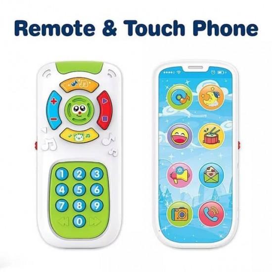 Jucarie interactiva 2in1- Telefon si Telecomanda