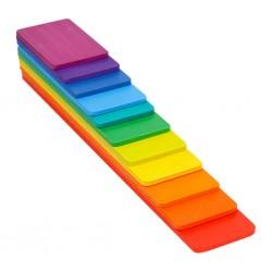 Paleta de culori curcubeu