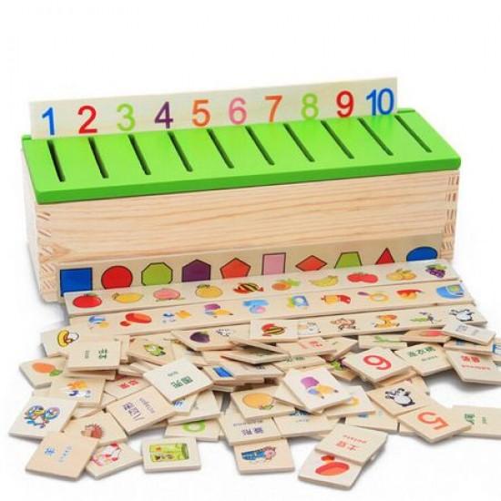 Montessori Joc Din Lemn Clasificarea