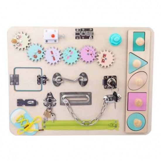 Placa Senzoriala Busy Board Pastel