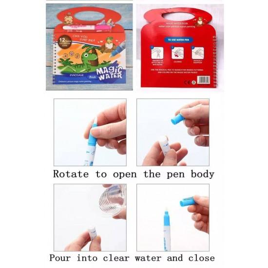Carte de pictat cu apa Reutilizabila