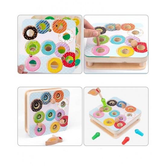 Joc magnetic educativ Omizile colorate