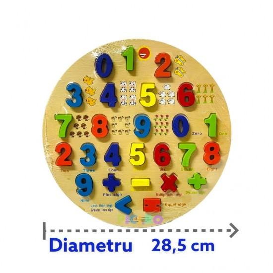 Puzzle Educativ Matematica