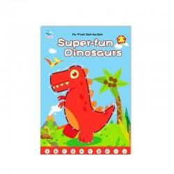 Caietul cu activitati punct cu punct  Dinozaurii invata Alfabetul