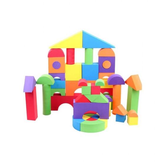 Set 50 cuburi spuma Creativity Color