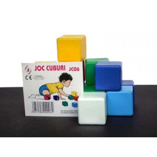 Cuburi din plastic Juno