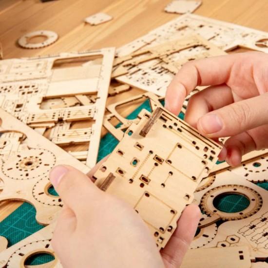 Puzzle Glob Pamantesc Craft de asamblat