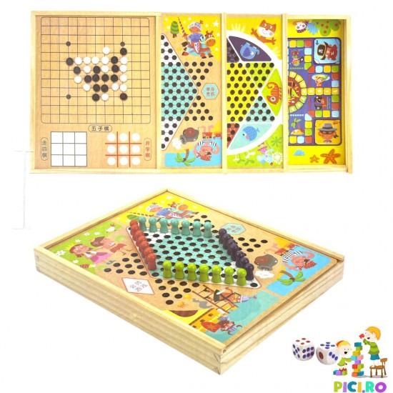 Colectie educativa 4 jocuri de societate