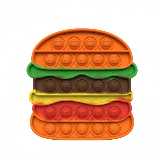 Pop it Antistres din silicon Hamburger