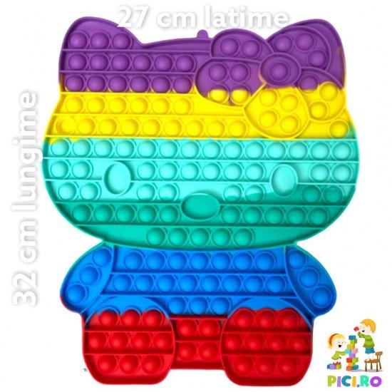 Pop it MARE din silicon Hello Kitty Multicolor