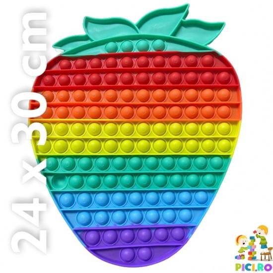 Pop it din silicon Capsuna Multicolor