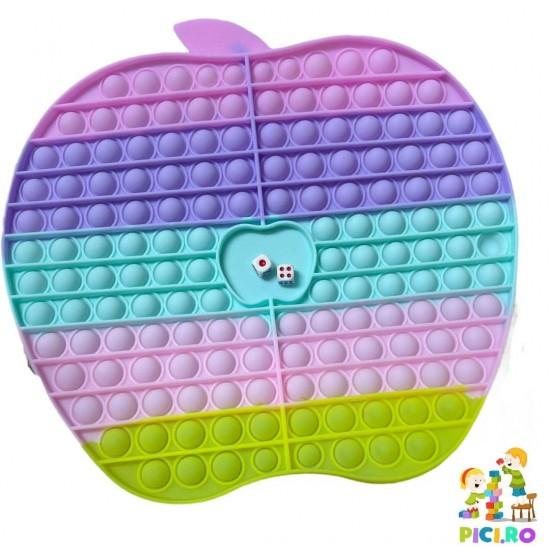 Pop it din silicon Fosforescent Multicolor Mar