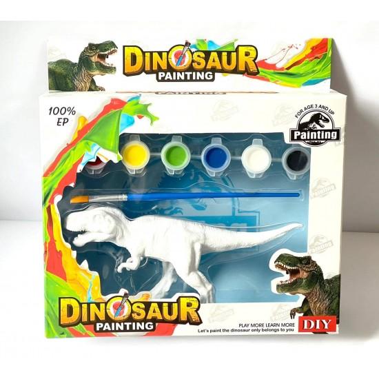 Dinozaur de colorat